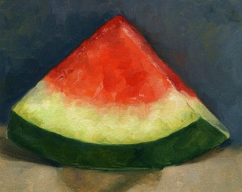 Watermelon Oil Painting