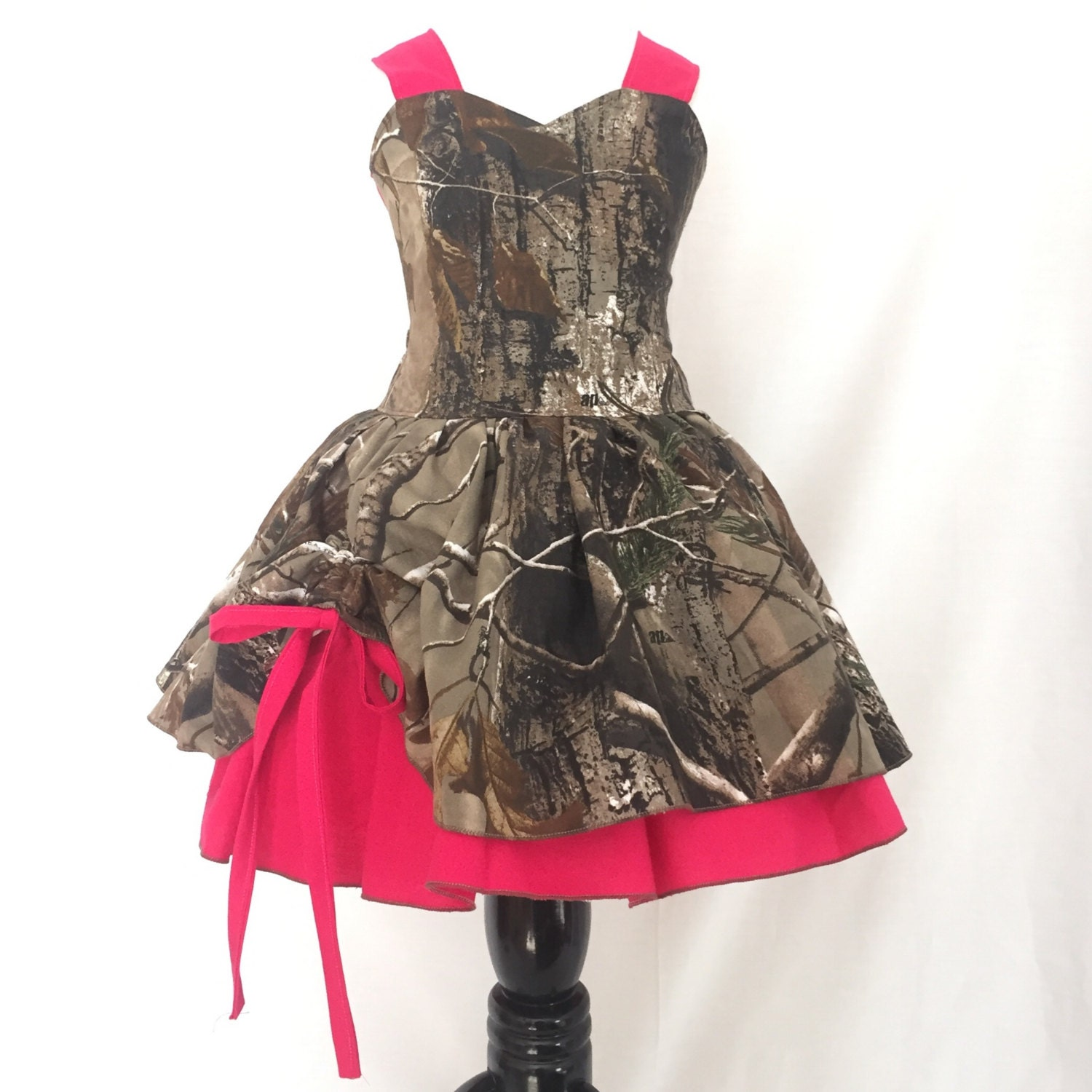 camo dress flower girl dress country girl style camo and