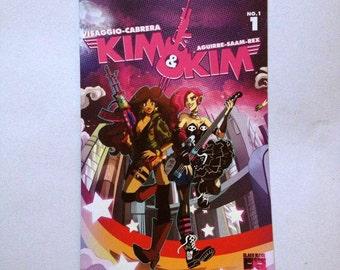 KIM&KIM #1 variant cover Eva Cabrera