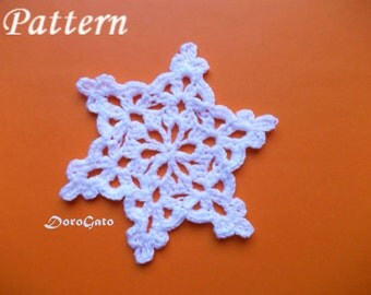 """Shop """"crochet snowflakes"""" in Craft Supplies & Tools"""