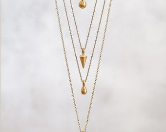 14 Karat Gold Rolo Chain, 14kt solid gold yellow, rose, white chain necklace, simple gold chain 1.2mm width, 45cm 50cm 60cm length