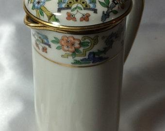 Demitasse Pot, Limoges; demitasse pot, gda, Gerard Duffresseix, duffresseix abbot, porcelain