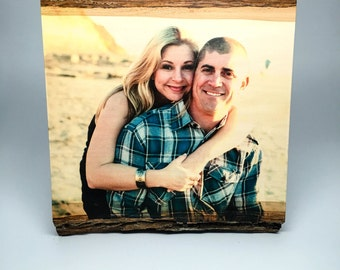 5th Anniversary Gift, Wood Anniversary Gift, Personalized Wood Photo, Wedding Gift, Fifth Anniversary Gift, Engagement Gift, Anniversary