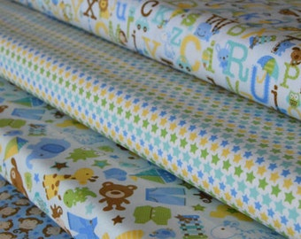 Snips and Snails - 4 Fabric Bundle