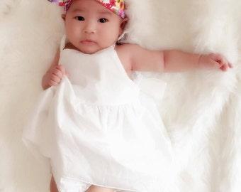 Baby headband, infant headband, adult headband - floriana
