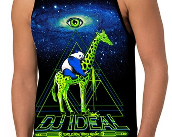 "Men's ""DJ IDeaL"" Tank Top by SFYNX Apparel (Free USA Shipping)"