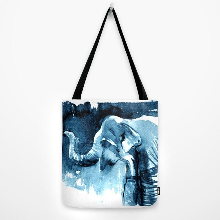 elephant tote bag book lover gift idea gifts for him 2016