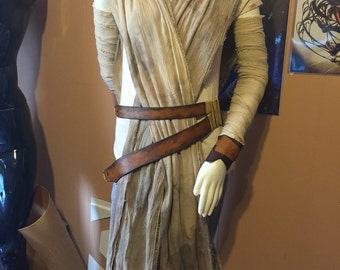 Star Wars The Force Awakens Rey Adult Costume Cosplay Rebel Legion Standards - CLEARANCE SALE!