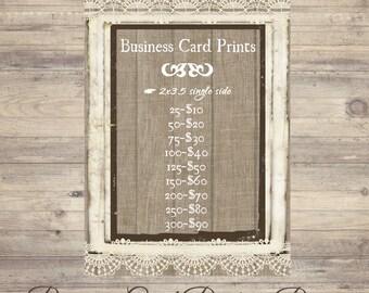 2x3.5, Business Card Printing, Printing Prices, Business Card Prints, Business Card Printing Prices, Competitive Prices