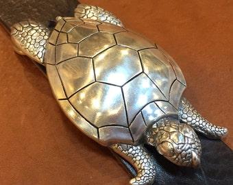 Turtle Belt Etsy