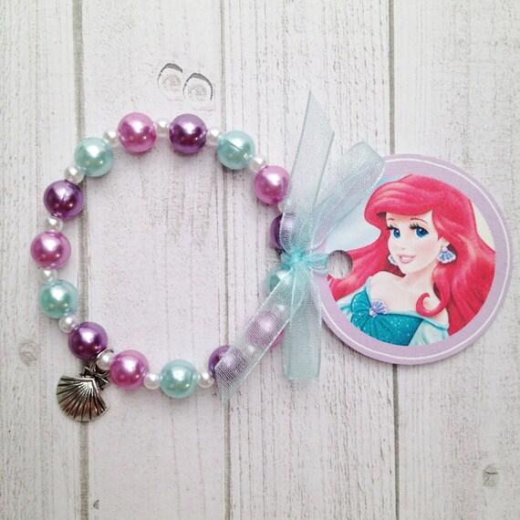 8 ariel mermaid 6 25 charm bracelet birthday