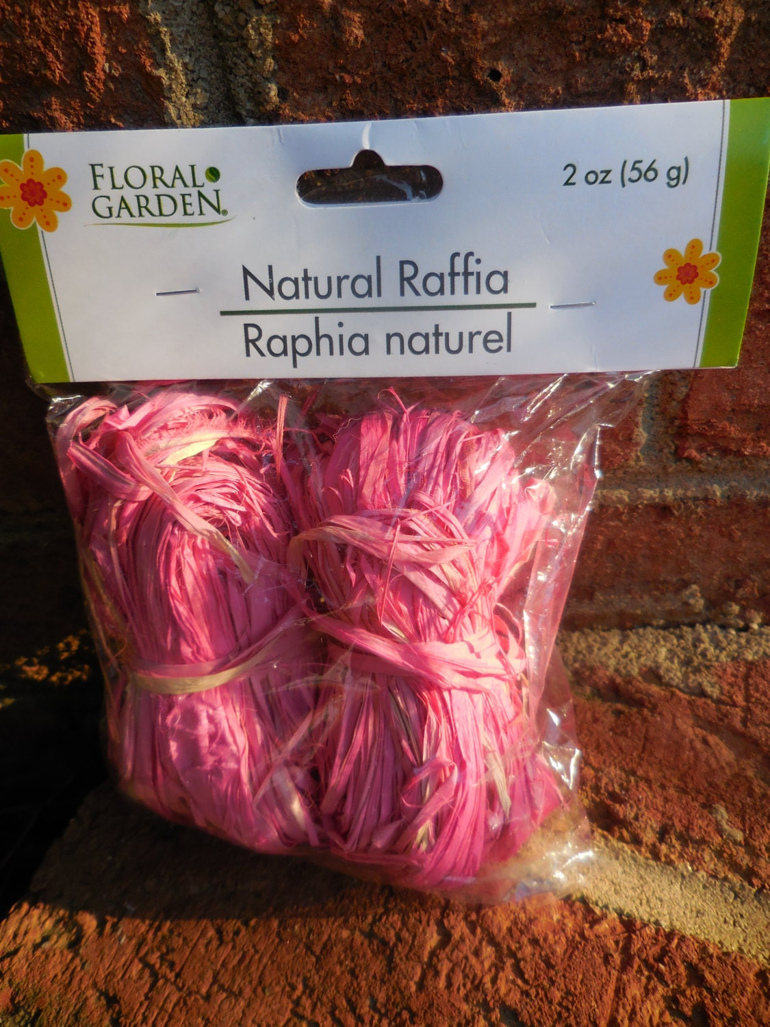 Decorating With Raffia Floral Garden Natural Raffia 2 Oz Bags Pink Decorating Wreaths