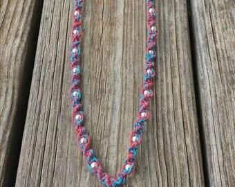 Handmade Super Hatchet Man Hemp Necklace