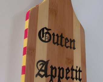 Sign - German sign- Guten Appetit