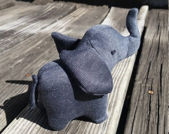 Tiny Elephant Plush, Elephant Stuffed Animal, Stuffed Elephant, Small