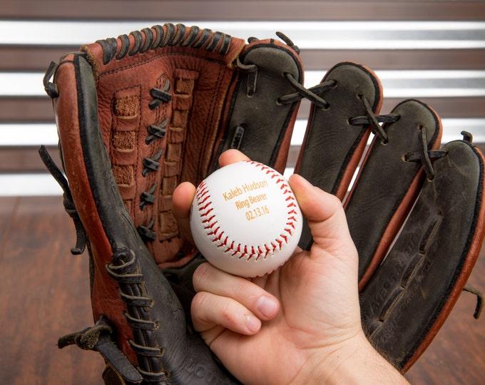 Engraved Player Award Balls, Little League Player Plaques Awards, Team Baseball Ceremony Trophy Ball, Custom Baseball, Personalized Baseball