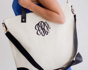 Monogram Shoulder Bag- 3 Color Options- Personalization Included