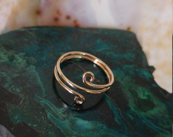Any Finger Any Size!!! Gold Ring, Gold Midi Ring, 14k Gold filled Ring, Choose USA Size 2-8  Jewelry Handmade Ring,