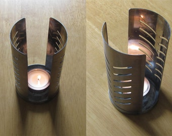 Swedish Vintage Candle Holder Metal Candle Holder Tealight Candle Holder Single Candle Holder