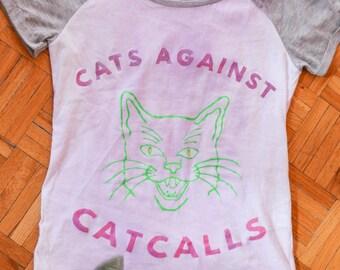 Cats Against Cat Calls Tee