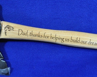 Husband Gift ~ Groomsmen Gift ~ Gifts For Dad ~ Engraved Gifts ~ Fisherman Gift ~ Camping Gift ~ Hunting ~ Fishing ~ Hunting Gift ~ Hatchet