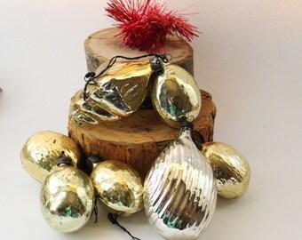 Vintage Christmas Ornaments Vintage Christmas Decorations Vintage Christmas Vintage Christmas tree decoration Vintage tree USSR ornaments