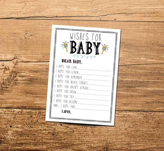 New Baby Wishes: What to Write in a Baby Card | Hallmark ...