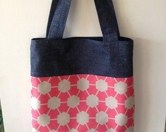 Tote Bag/Shopping Bag - Geometric Print