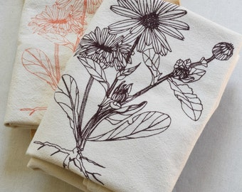 Flour Sack Towels, Tea Towel Set, Kitchen Towels, Cotton Dishcloth, Dish Towels, Flour Sack Towel, Tea Towels, Flower Tea Towels, Hand Towel