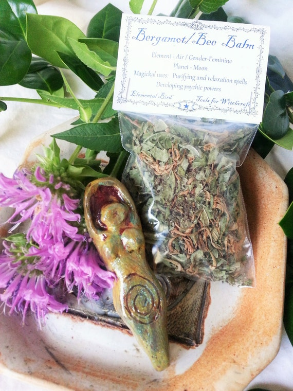 Bergamot Bee Balm Relaxation Spell Kit Goddess and herbs