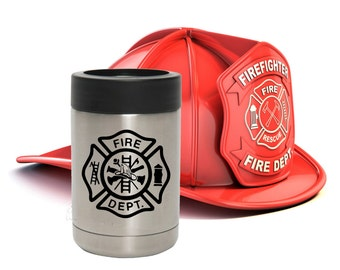 gift for firefighter - firefighter yeti cup - firefighters gift - firefighter yeti - bunker gear - firefighter gifts for men - CYb
