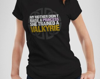 My Mother Trained a Valkyrie | Scoopneck Tee