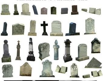Cemetery Overlay, Gravestone Overlay, Graveyard Overlay, Halloween Overlay
