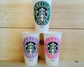 Personalized Starbucks Coffee Mug - Custom Starbucks Cup - Personalized Starbucks Coffee Cup - Custom Starbucks Mug