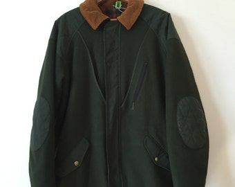 military green woolrich coat