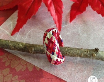 Yubinuki / Japanese thimble ring / Kimono / Thimble