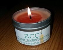 4oz Safety Tin Travel Candle **Test Item**