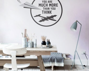 Inspirational Quote - Wall Sticker - Wall Decal Quote - Quote - Car Decal - Large Wall Art - Wall Decor