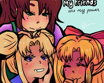 Sailor Scouts Friendship
