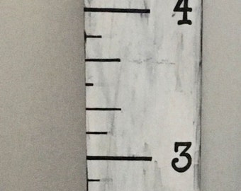 growth chart, life size ruler