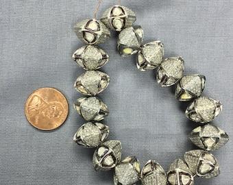 All Diamond rose-cut Beads