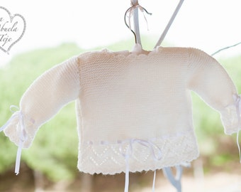 Jersey in pure Virgin wool unisex, boy and girl.