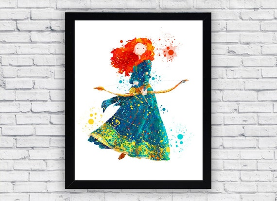 brave watercolor by bezawesome - photo #22