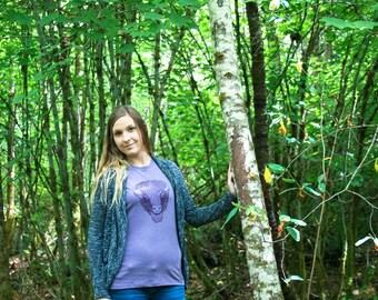 SALE *** Nature Tee, Bison Shirt, Yosemite tee, Yellowstone, Camping Shirt, Buffalo Tshirt, Nature Lover Gift, Nature Outfit, Hiking Shirt