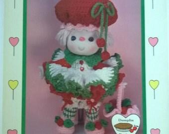 Lollipop Lane Cherries Jubilee Vintage Crochet Doll Pattern