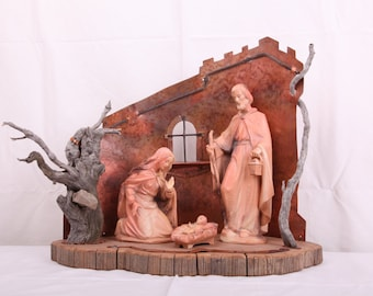 Sculpture - Nativity - Holy Family