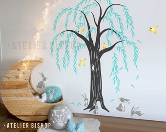 Willow Tree Wall Decals Etsy Uk