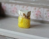 Dolls House Miniature Preserved Lemons in 1:12 scale