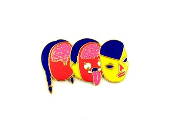 HEAD SPLICER Enamel Pin