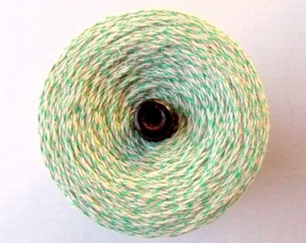 Green & White Baker's Twine / 15 Yards